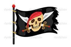 Попугай пиратский корабль сундук с