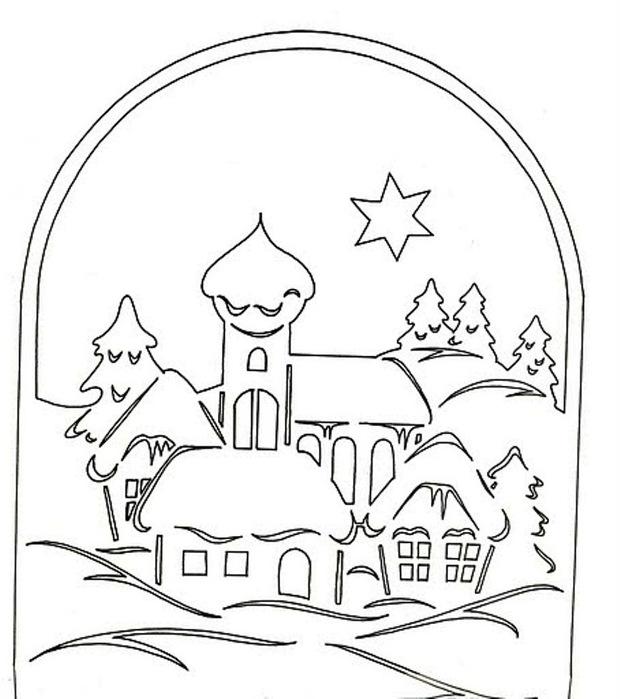 Схема зимней удочКак сделать новогодние украшения для